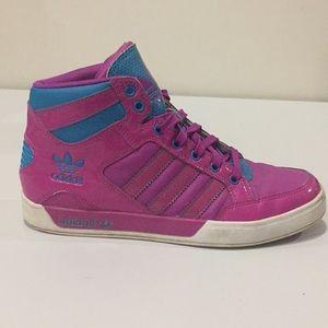 Adidas women's original hard court high's.